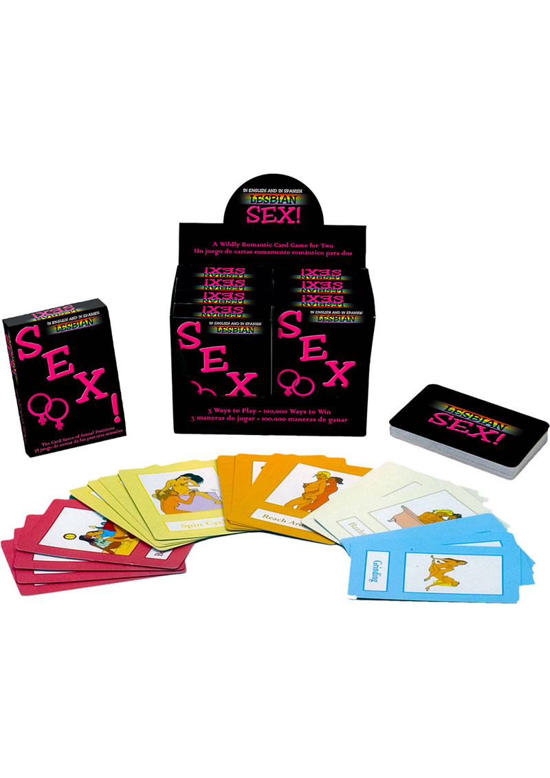 Lesbian Sex The Card Game