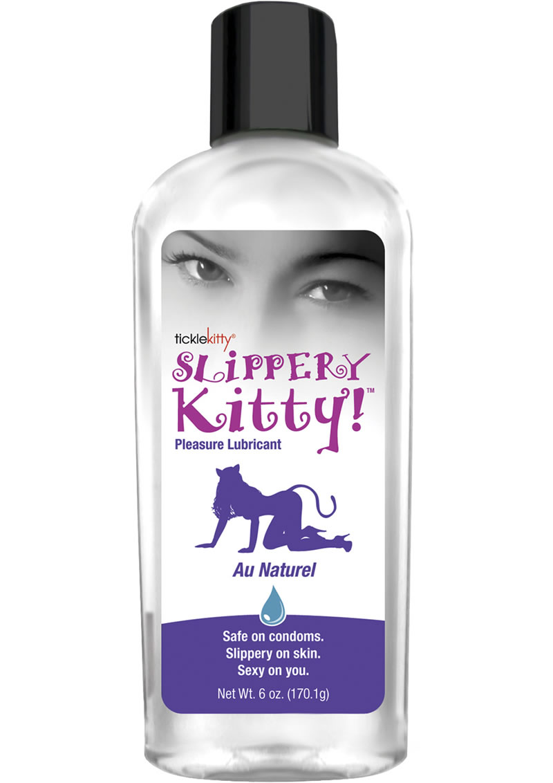 Slippery Kitty Water Based Lubricant 8 Ounce