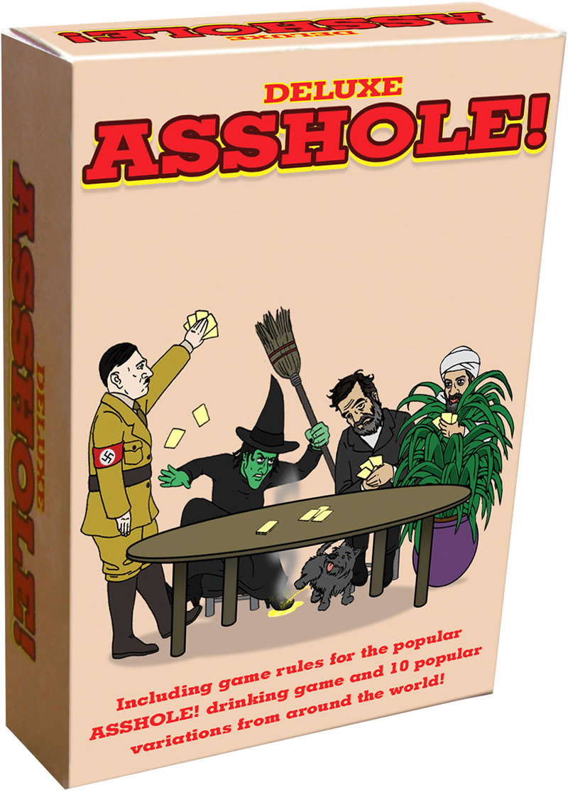 Deluxe Asshole Drinking Card Game