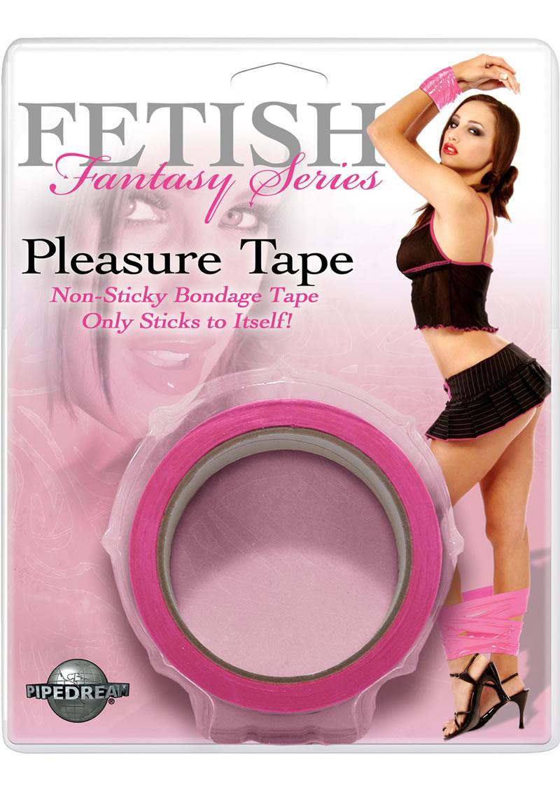 Fetish Fantasy Series Pleasure Tape Pink