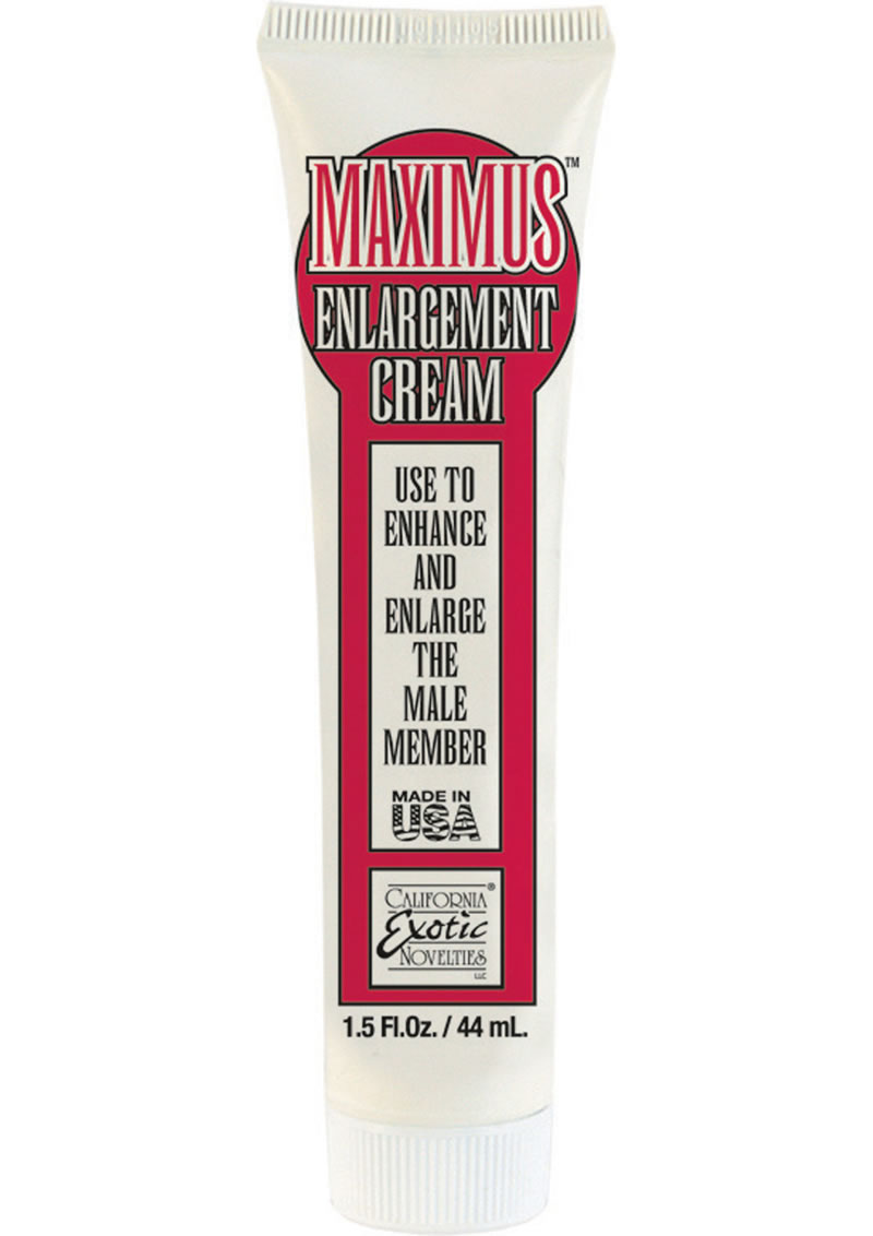 Maximus Enlargement Cream 1.5oz - Bulk