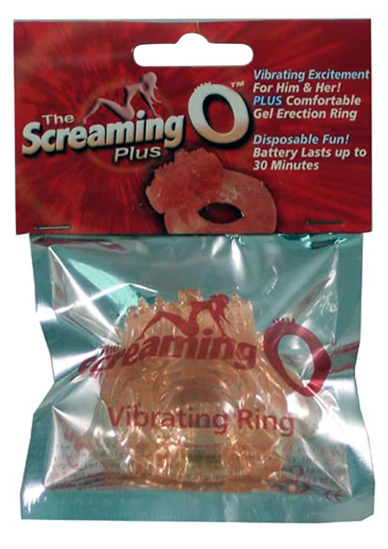 Screaming O Plus Silicone Cock Ring Waterproof Flesh