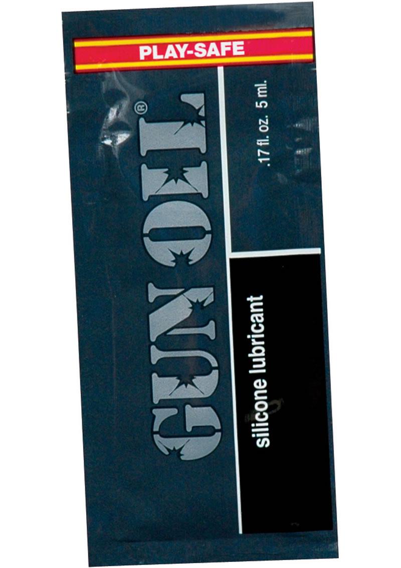 Gun Oil Foil Packs .17 Ounce 50 Per Bag
