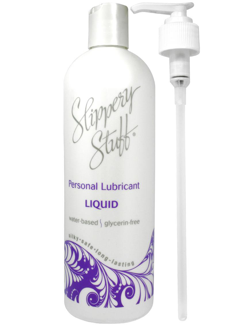 Slippery Stuff Liquid Water Based Lubricant 16oz