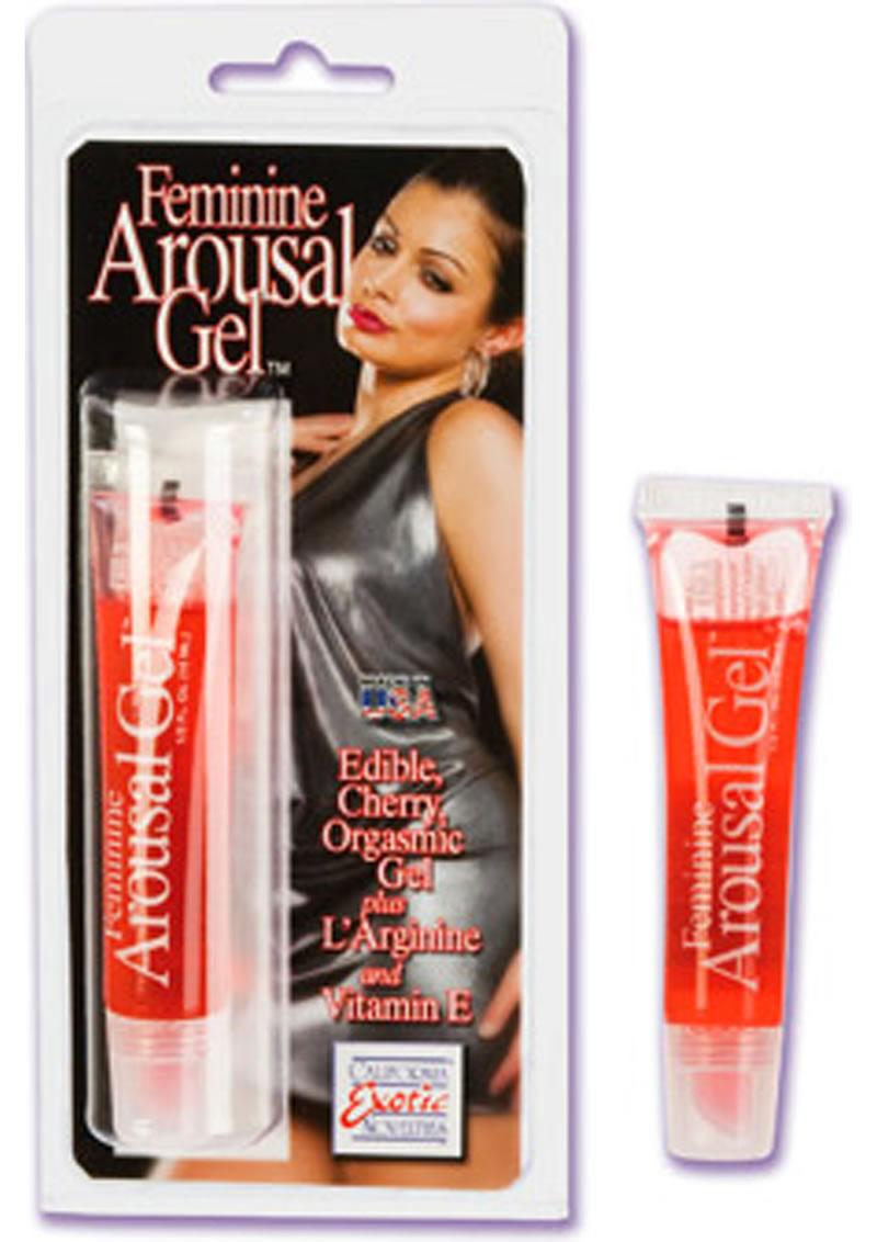 Feminine Arousal Gel Cherry .5oz