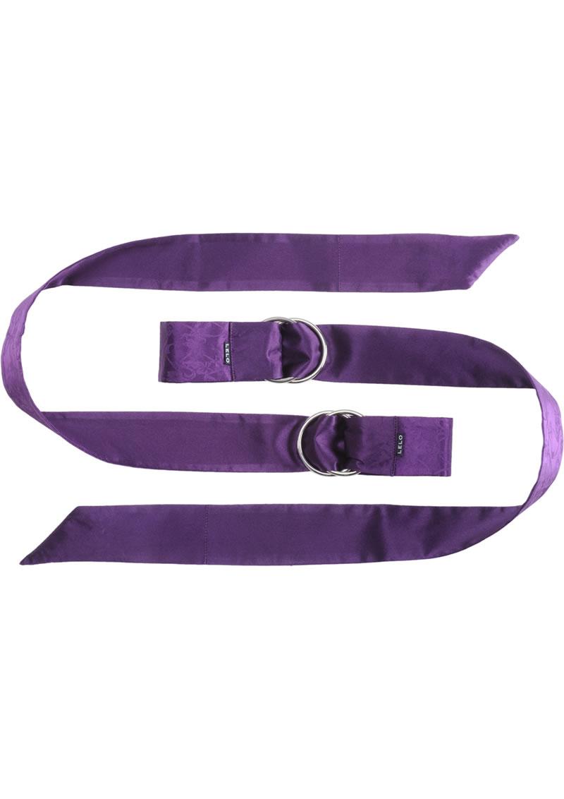 Boa Pleasure Ties Purple