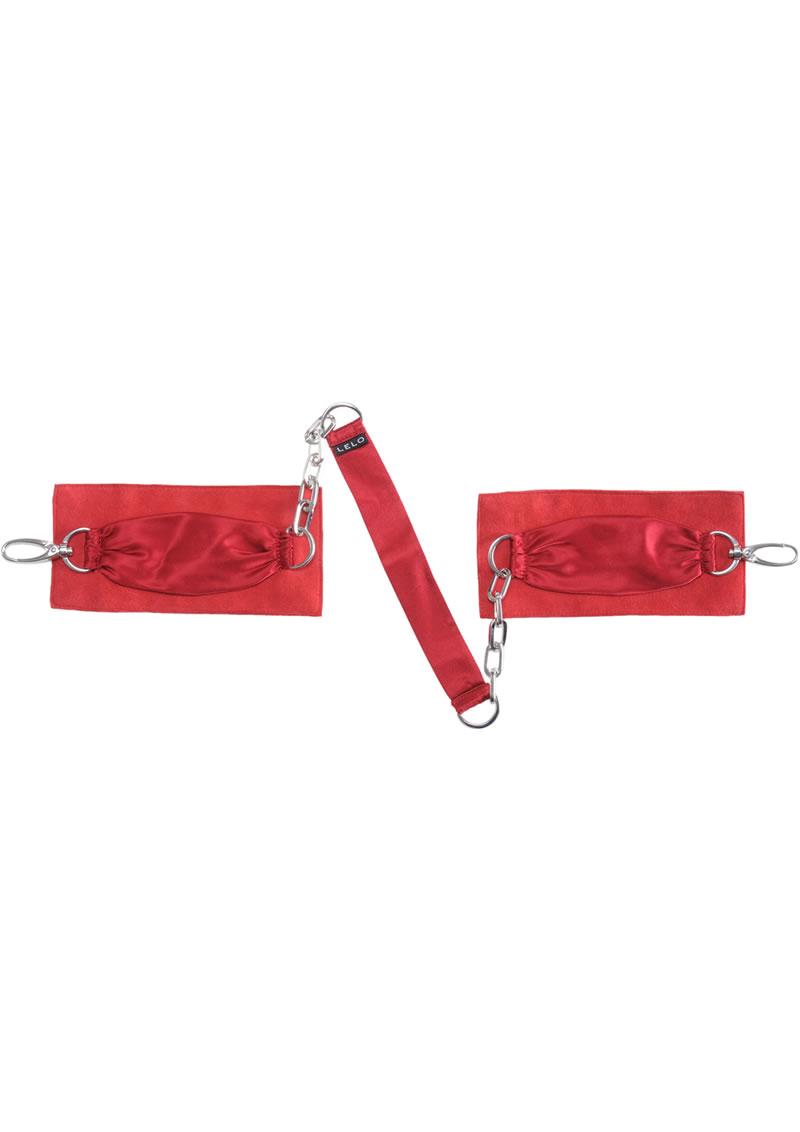 Sutra Chainlink Cuffs Red