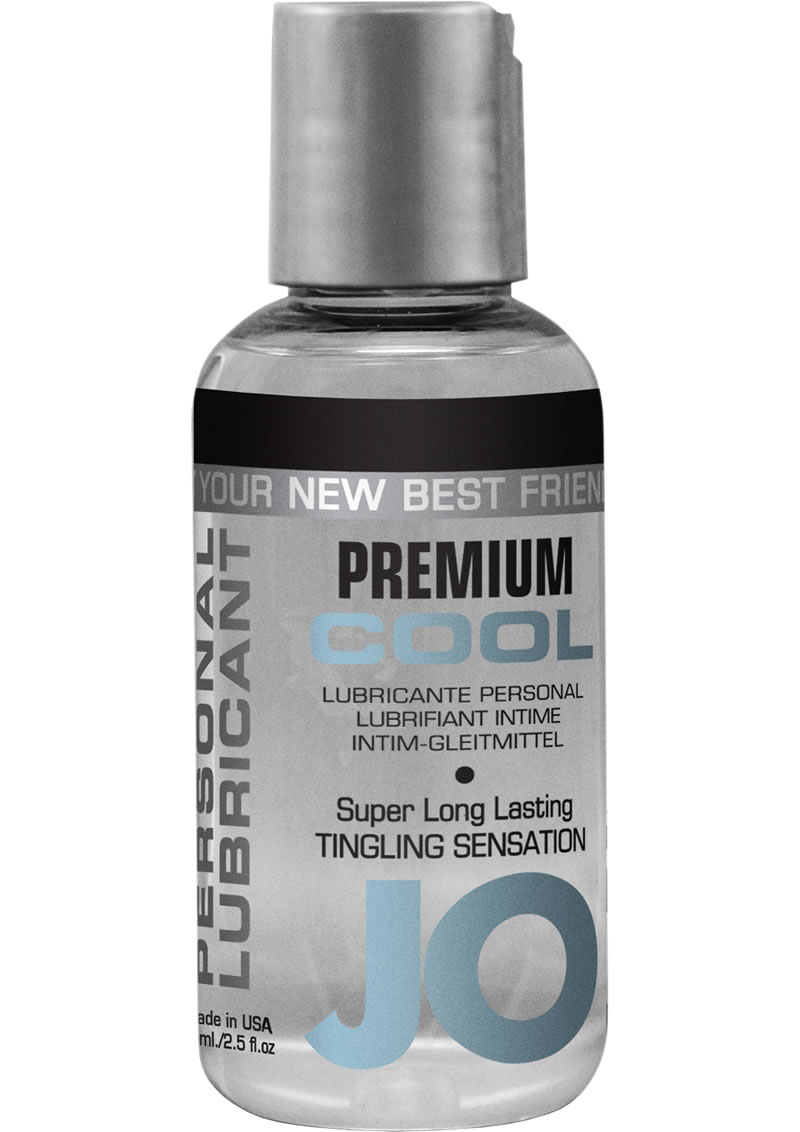 Jo Premium Cool Silicone Lubricant Tingling 2 Ounce