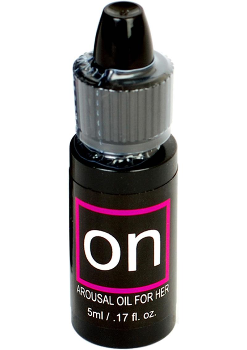 Sensuva On Natural Arousal Oil For Her SM Box .17oz