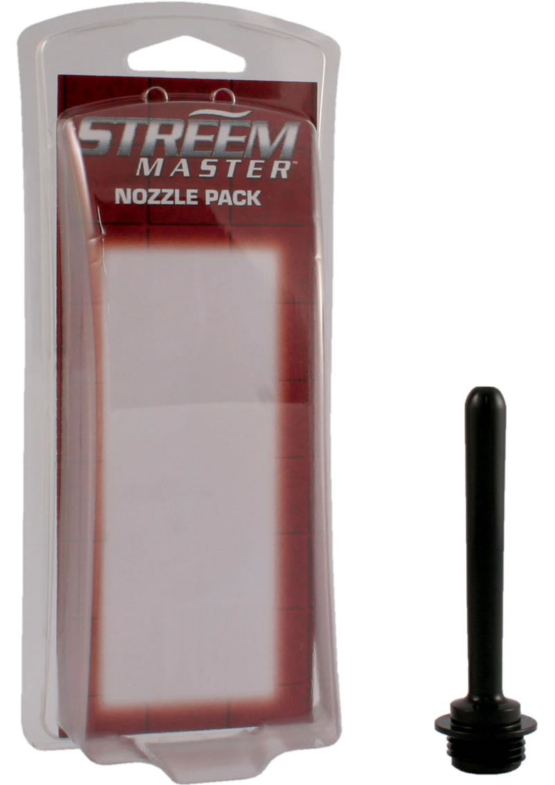 Streem Master Comfort Nozzle Black