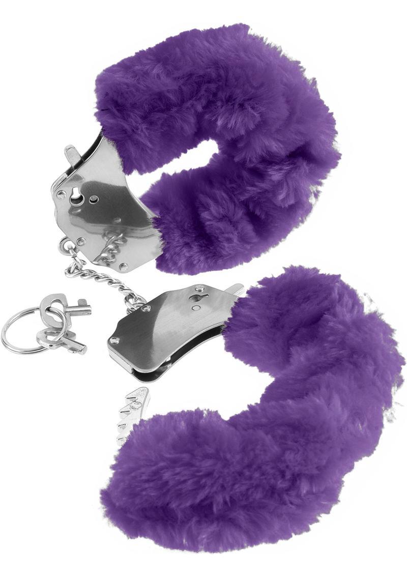 Fetish Fantasy Series Furry Cuffs Purple