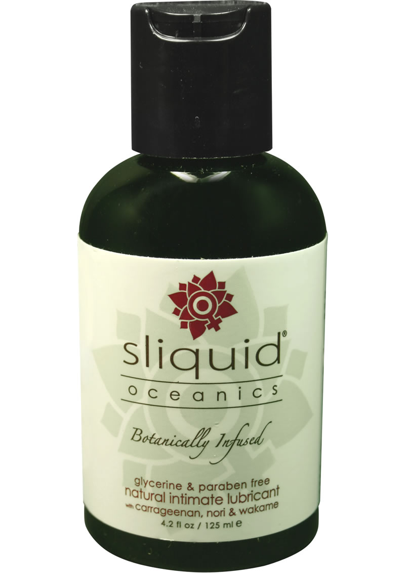 Sliquid Oceanics Botanically Infused Lubricant 4.2 Ounce
