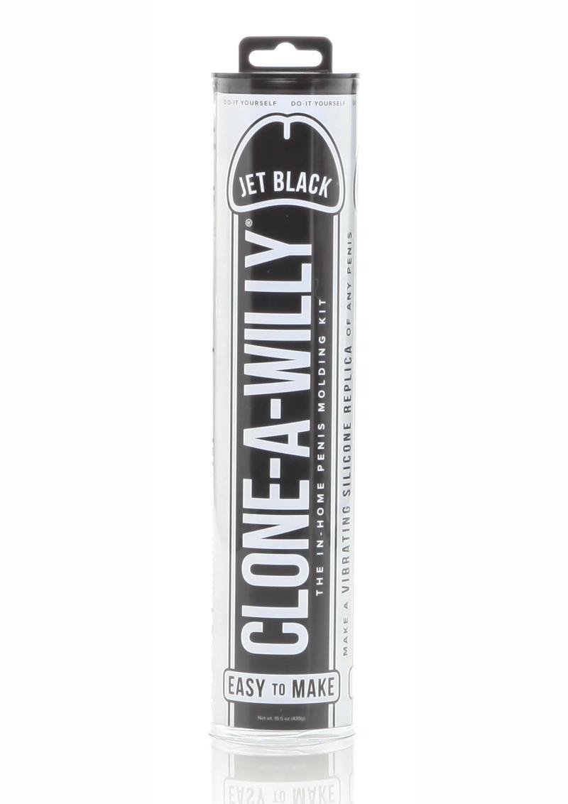 Clone A Willy Kit Vibrating Dildo Mold Jet Black