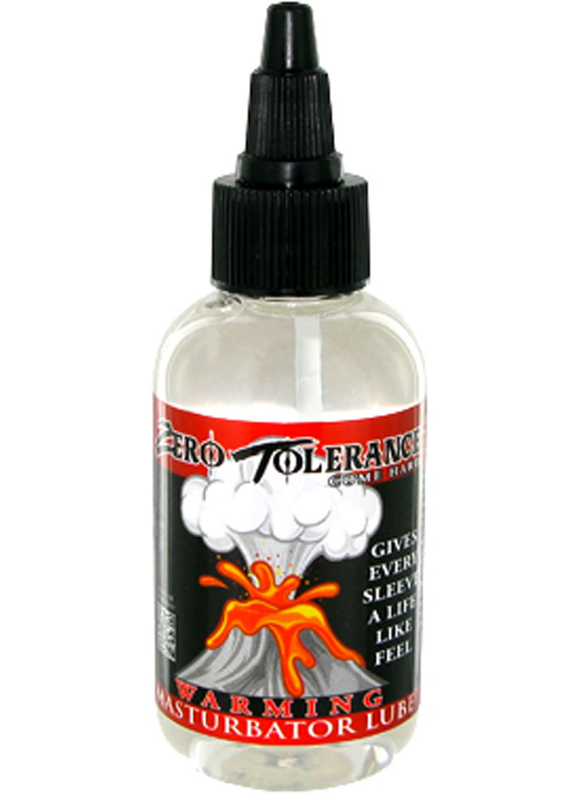 Zero Tolerance Warming Masturbator Lubricant 2 Ounce