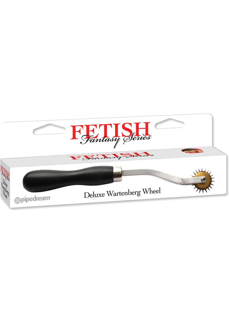 Fetish Fantasy Series Deluxe Wartenberg Wheel Stainless Steel Pinwheel
