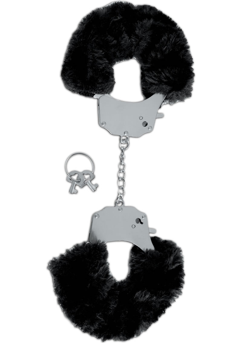 Fetish Fantasy Series Limited Edition Furry Cuffs Black