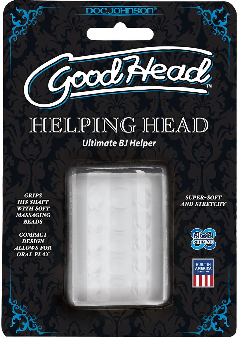 Goodhead Helping Head Ultimate BJ Helper Clear