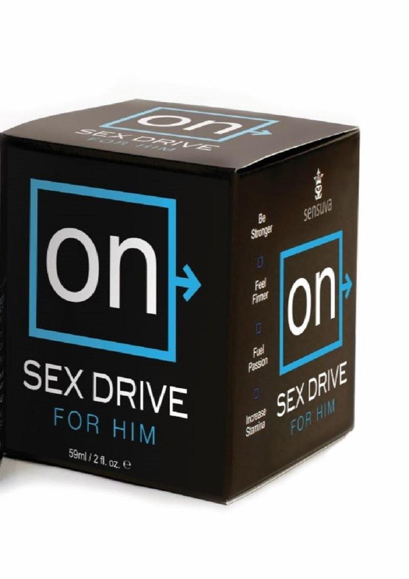 Sensuva On Sex Drive For Him Arousal Cream 2oz