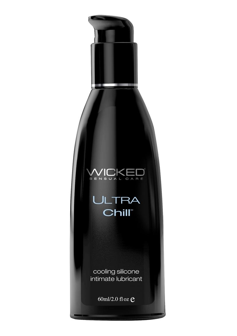 Wicked Ultra Chill Silicone Lubricant 2 Ounce