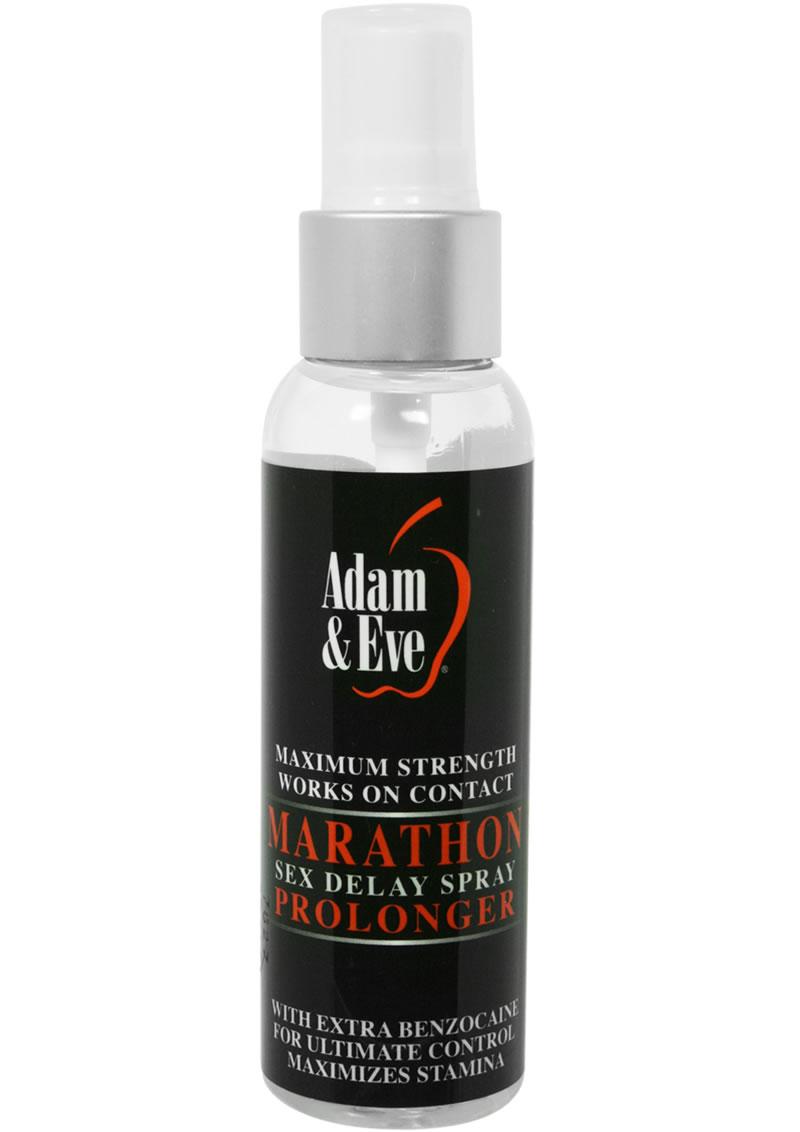 Adam and Eve Marathon Sex Delay Spray Prolonger Maximum Strength 2 Ounce