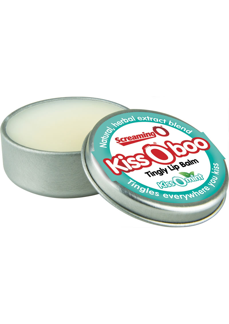 Kiss O Boo Tingly Lip Balm Peppermint