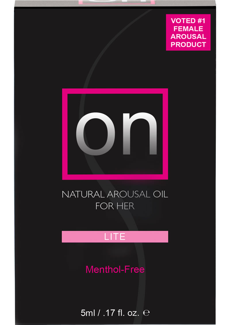 Sensuva On Lite Natural Arousal Oil For Her LG Box .17oz