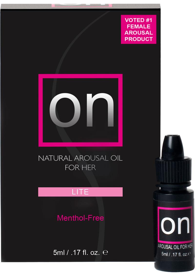 Sensuva On Lite Natural Arousal Oil For Her LG Box .17oz