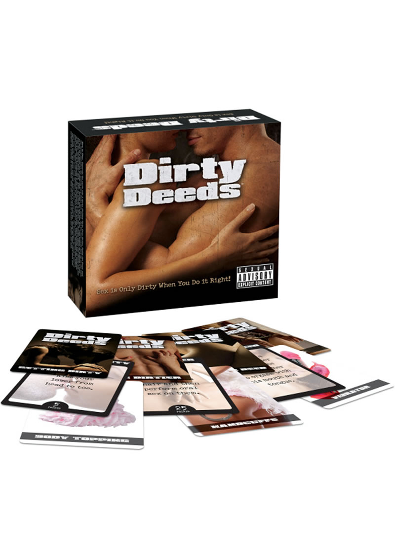 Dirty Deeds Couples Activity Card Game