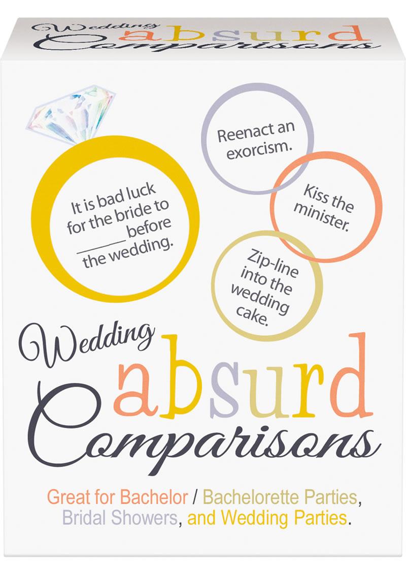 Wedding Absurd Comparisons Game