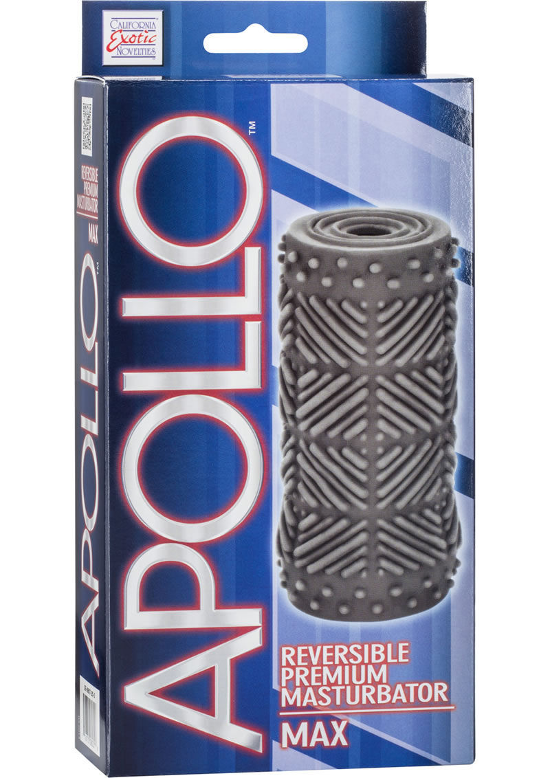 Apollo Reversible Premium Masturbator Max Stroker Grey