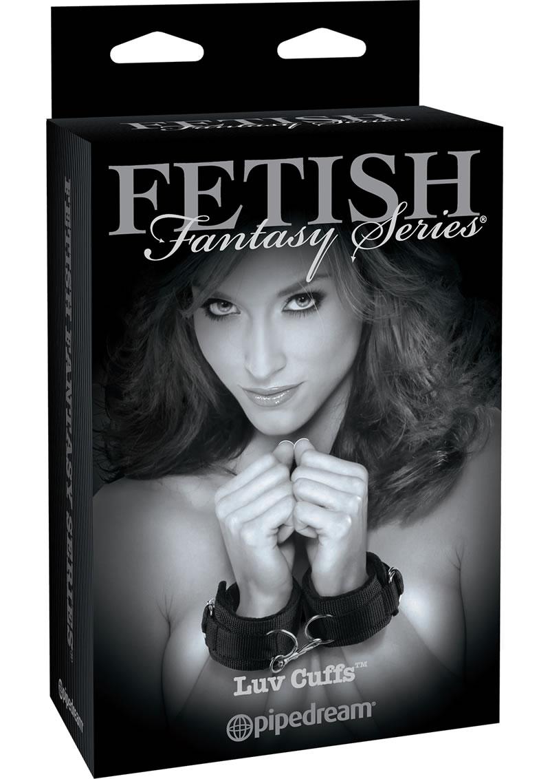 Fetish Fantasy Series Limited Edition Luv Cuffs Adjustable Black