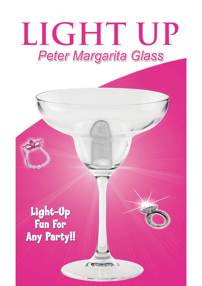 Light Up Peter Margarita Glass