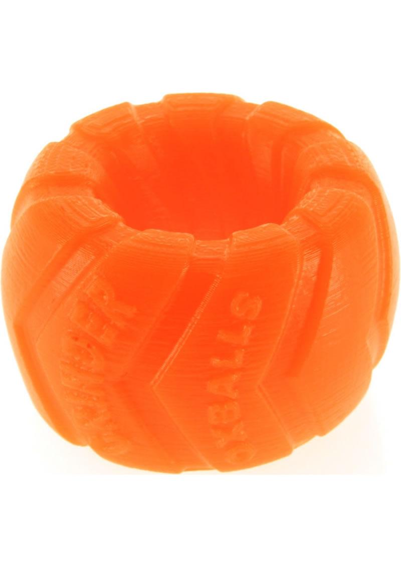 Grinder 1 Silicone Ballstretcher Orange 1.5 Inch