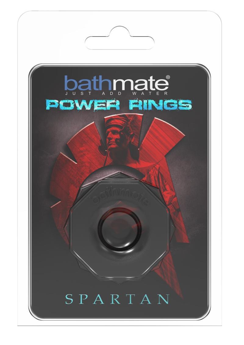 Bathmate Spartan Power Ring Cockring Black