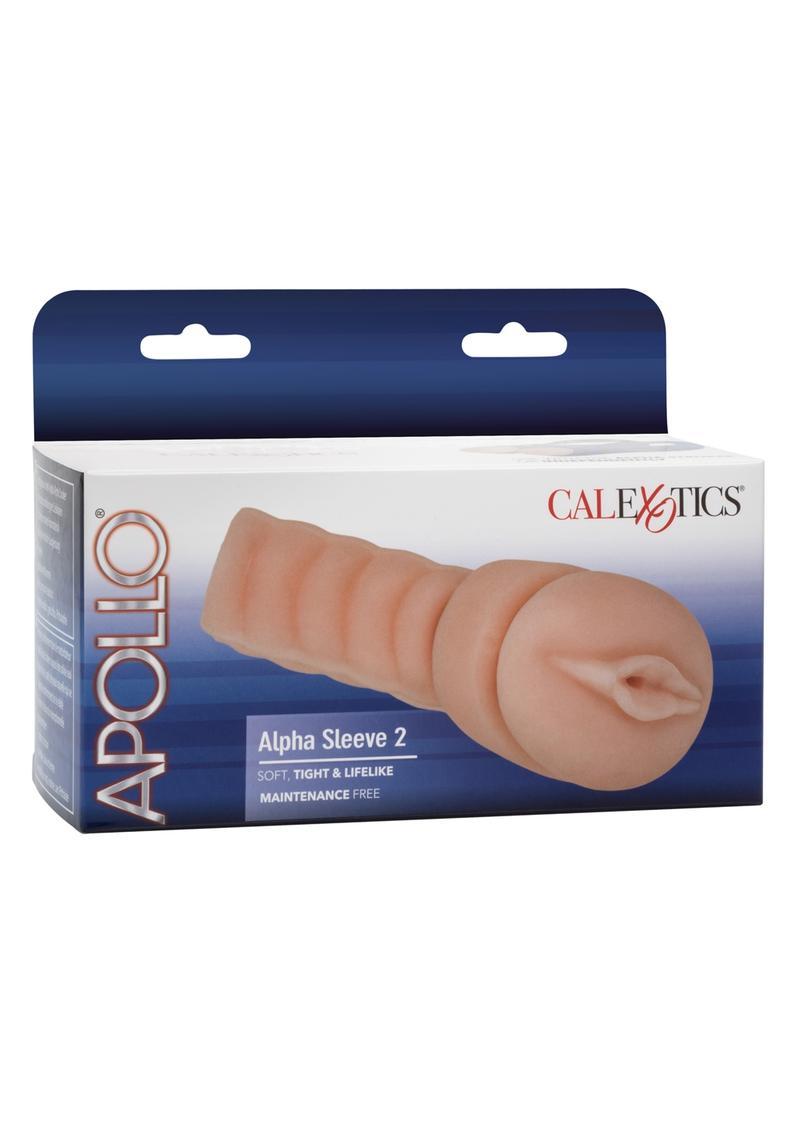Apollo Alpha Sleeve 2 Vagina Masturbator Replacement Sleeve Flesh 7.5 Inch