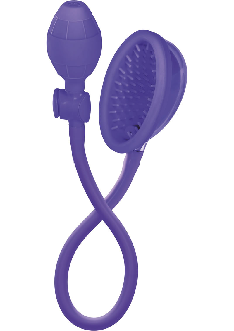 Silicone Clitoral Pump Purple