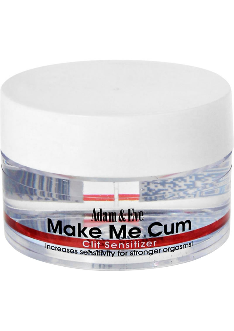 Adam and Eve Make Me Cum Clit Sensitizer Cream .50 Ounce
