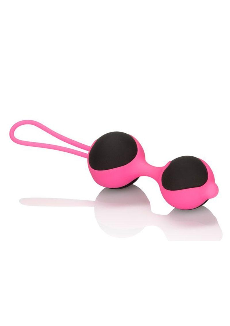Cocolicious Silicone Kegel Trainer Black And Pink