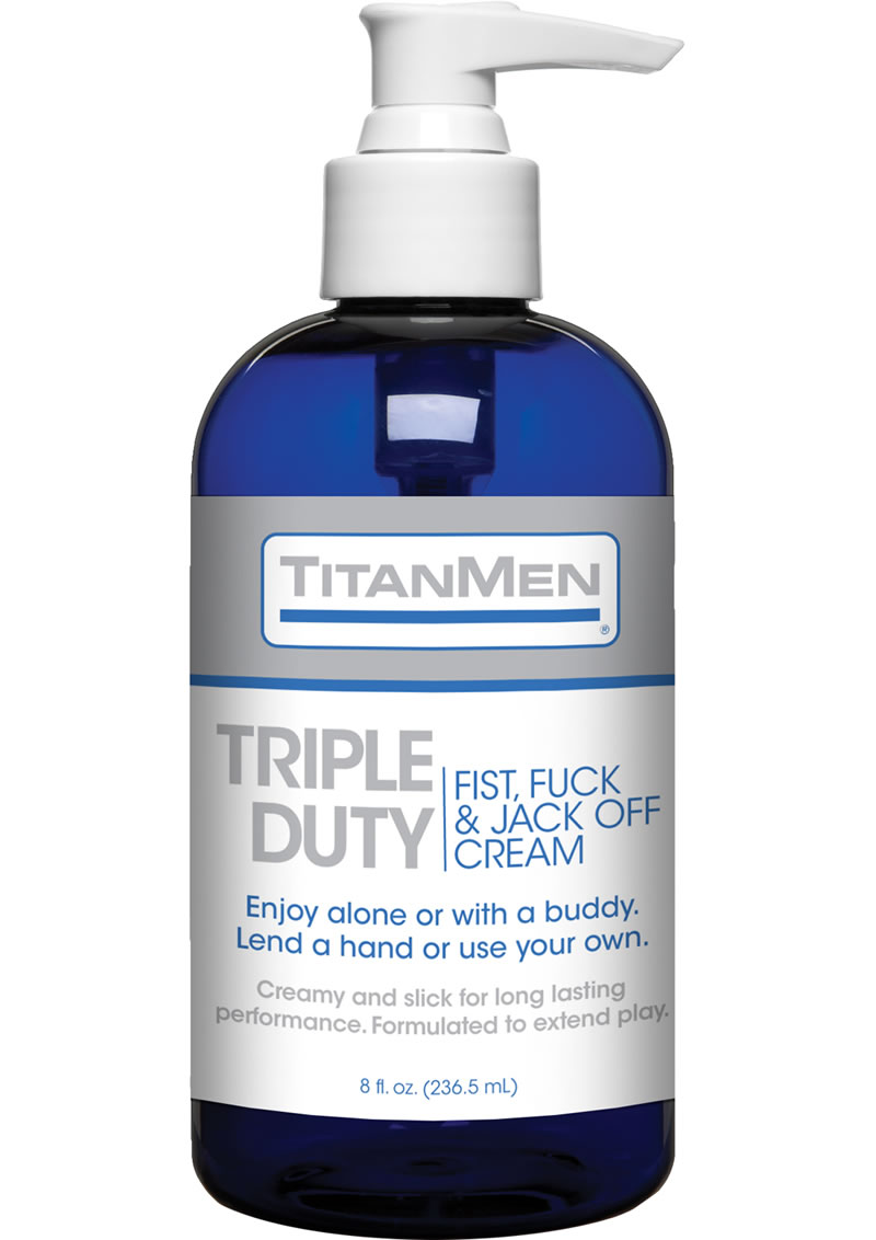 Fuck And Jack Off Cream 8 Ounce Pump