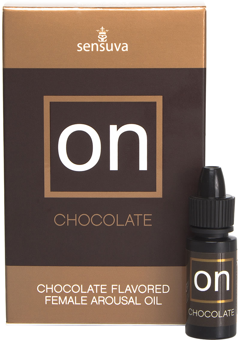 Sensuva On Chocolate Flavored Female Arousal Oil 5ml