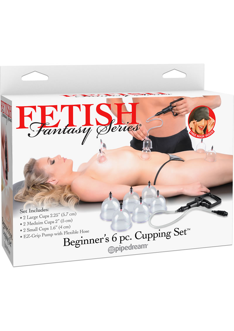 Fetish Fantasy Series Beginners Cupping Set 6 Piece