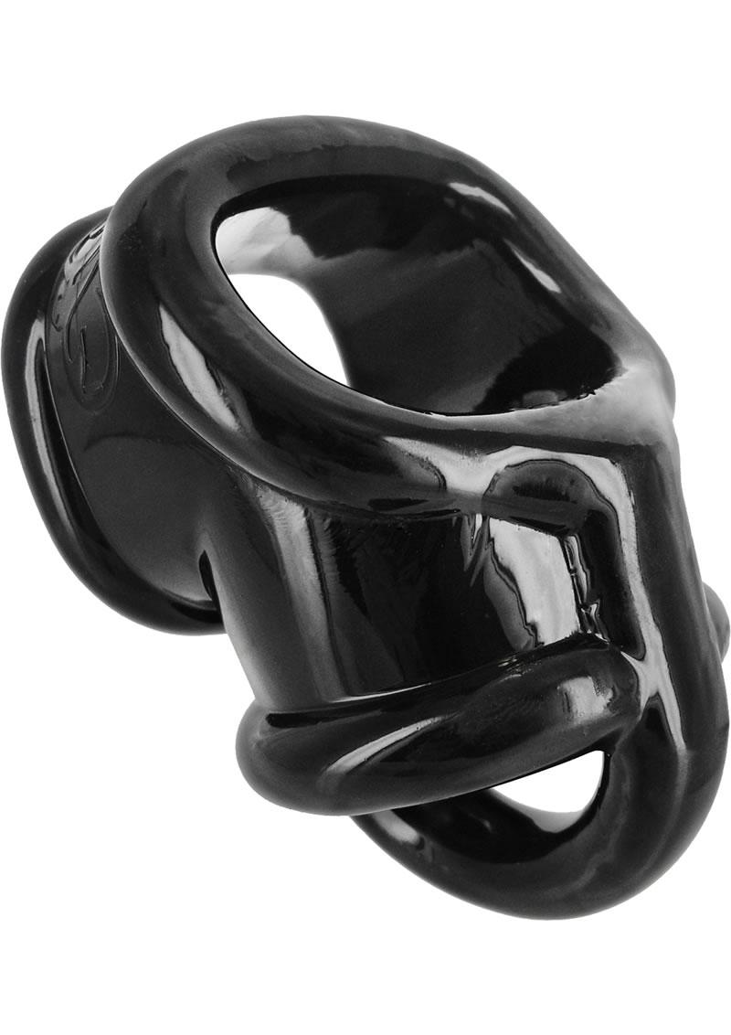 Master Series Annex Erection Enhancer Cockring Black