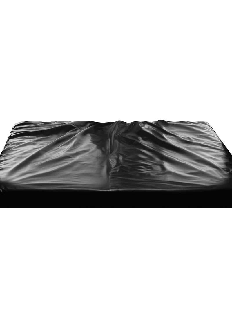 Master Series The Sex Sheet King Size Rubber Fitted Sheet