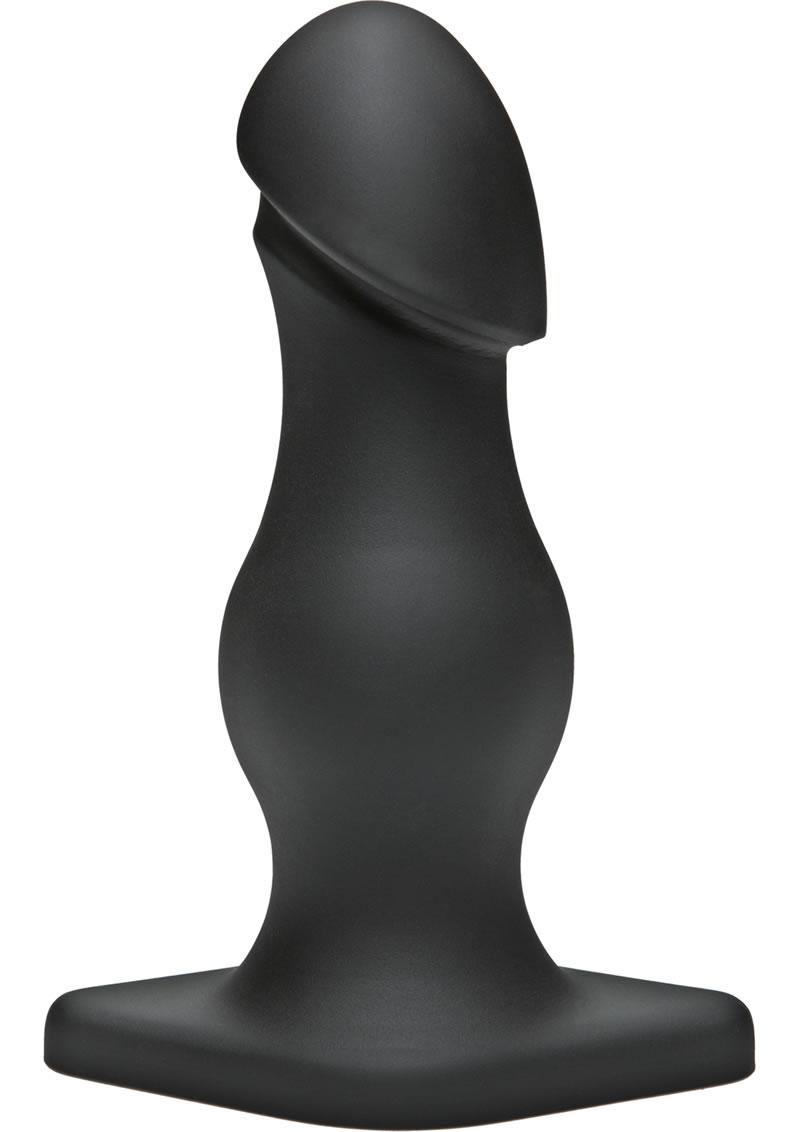TitanMen The Rumpy Anal Plug Black 6.5 Inch