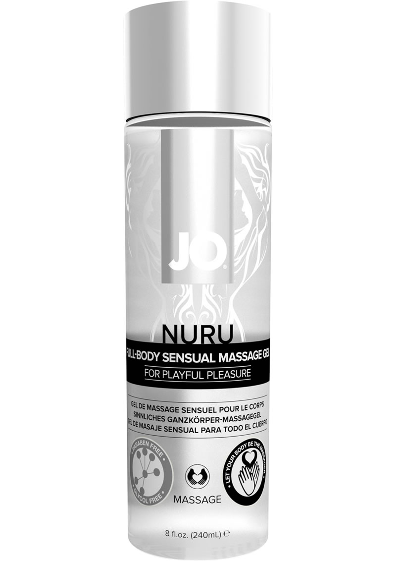 Jo Nuru Massage Gel 8oz