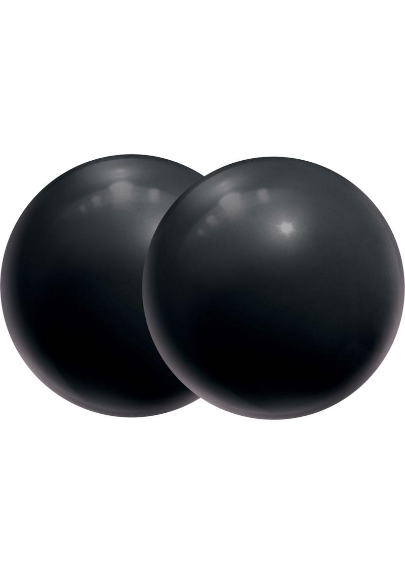 Body Safe Silicone BenWa Balls Black
