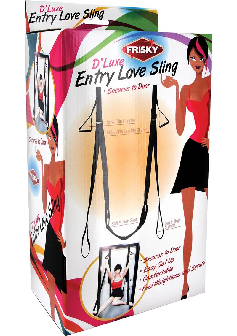 Frisky D`luxe Entry Over Door Love Sling Black