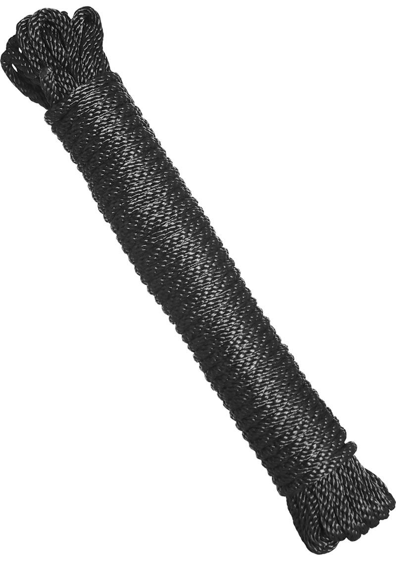Master Series Karada Bondage Rope Black 50 Feet