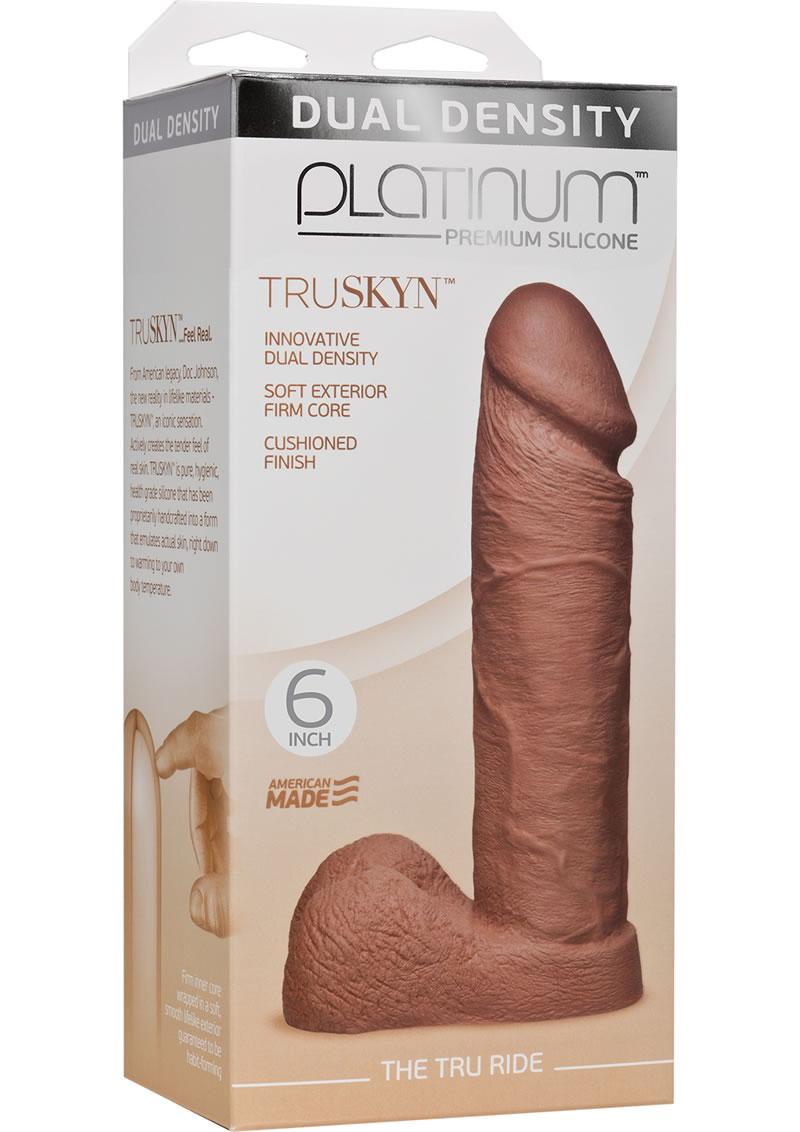 Platinum Truskyn Tru Ride Silicone Brown 6 Inch