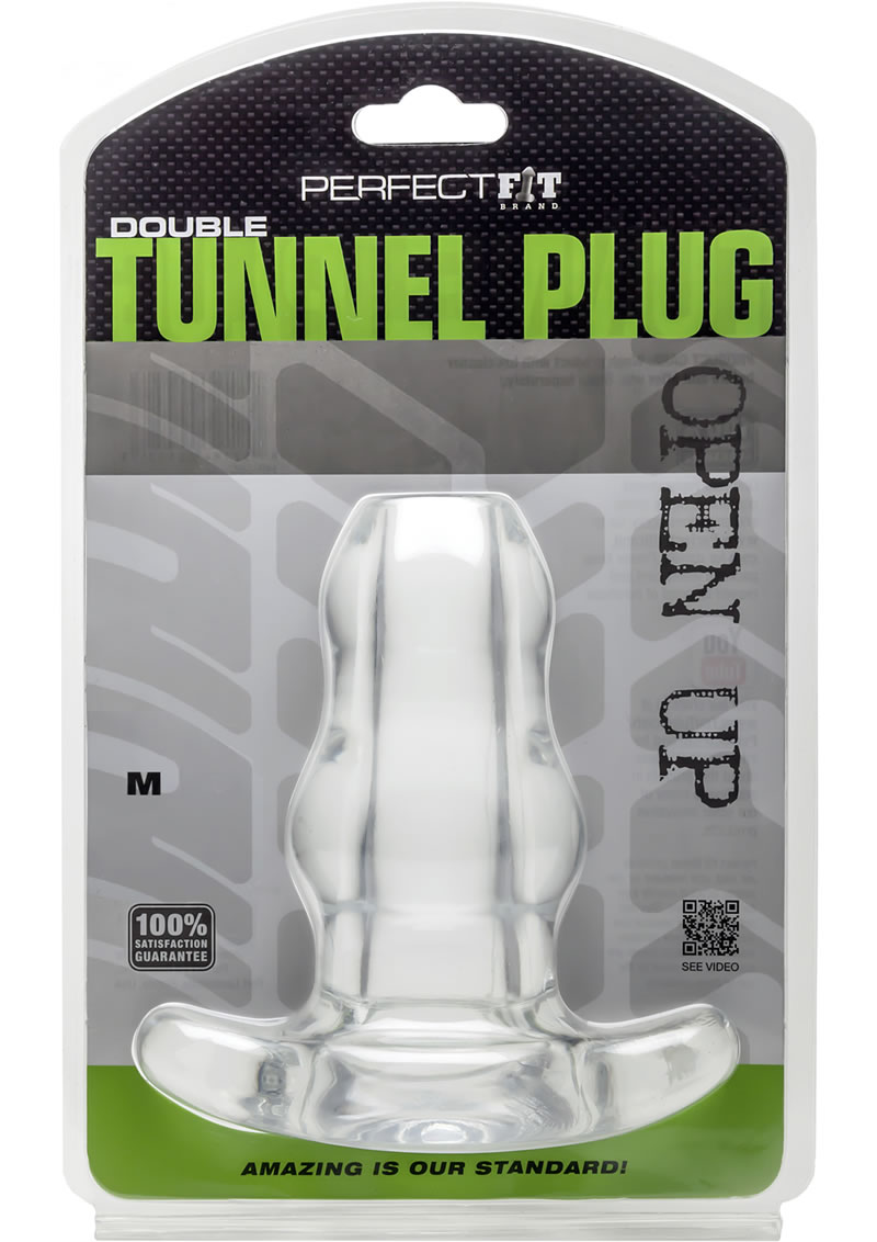 Perfect Fit Double Tunnel Plug MD - Clear